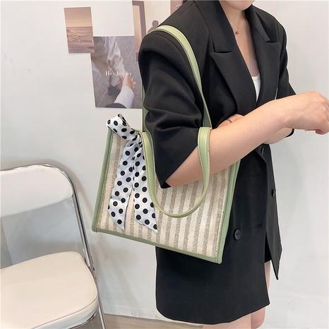 Mode große Kapazität Stroh kleine quadratische Tasche Großhandel NHRU350487's discount tags