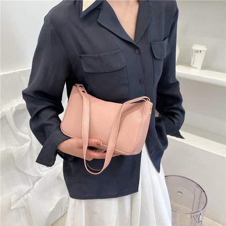 Mode einfarbig Schulter Messenger tragbare Tasche Großhandel NHRU350497's discount tags