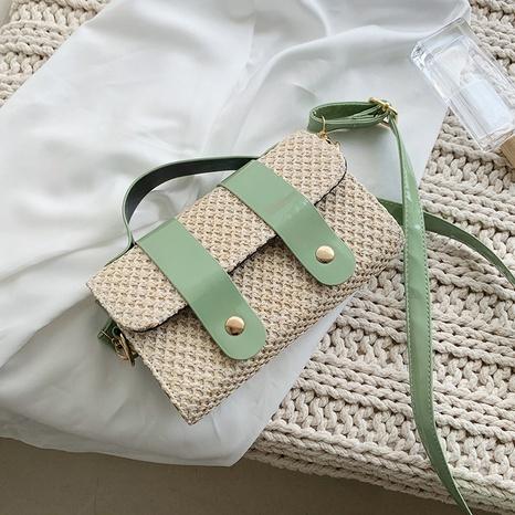 Tragbare strohgewebte Tasche des Mode-Schulterboten NHRU350511's discount tags