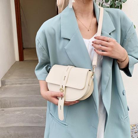 Mode einfarbige Schulter Umhängetasche Großhandel NHRU350517's discount tags