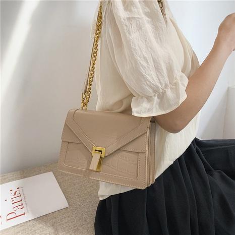Mode kontrastierende Farbe Schulter Messenger kleine quadratische Tasche NHRU350528's discount tags