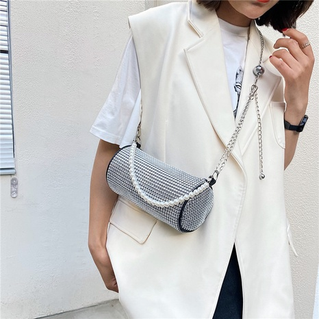Mode Perlenkette Schulter Umhängetasche Großhandel NHRU350532's discount tags