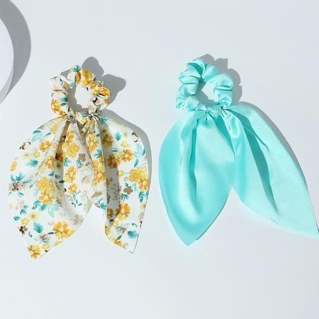 Nouveau ensemble de chouchous de cheveux de ruban de style de mode florale coréenne NHAU351793's discount tags