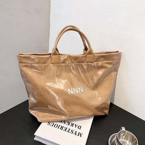 Mode einfarbig tragbare Tasche mit großer Kapazität im Großhandel NHJZ350764's discount tags