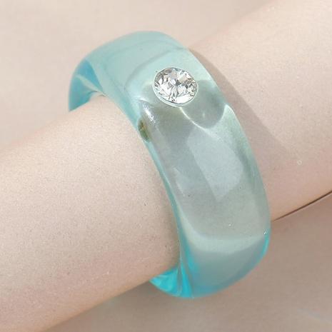 anillo de resina fresca salvaje simple estilo de moda coreana NHPS350950's discount tags