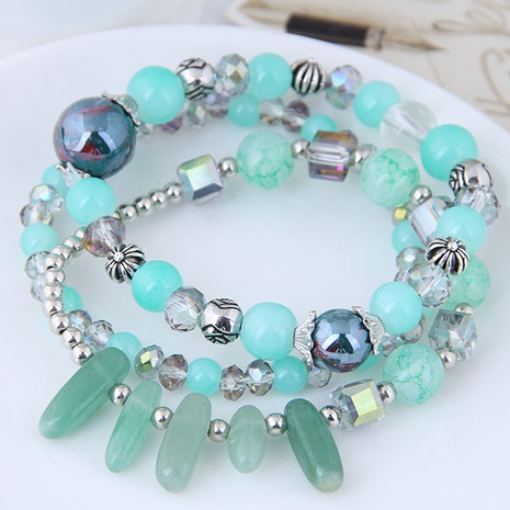 fashion new Crushed stone multi-layer women's bracelet NHSC350974's discount tags
