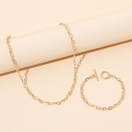 nouveau bracelet de collier de chaîne de style de mode simple NHRN351170's discount tags