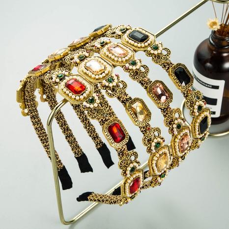 Bandeau de perles magnifique de style baroque de la mode coréenne NHLN351323's discount tags