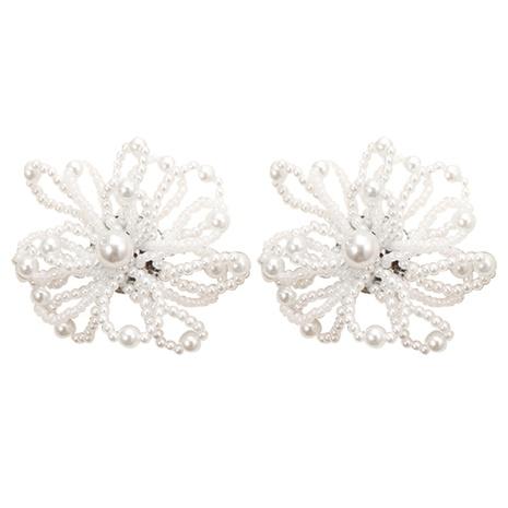 Boucles D'oreilles Clous De Perle Baroque NHJJ351370's discount tags