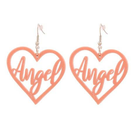 Boucles d'oreilles lettre d'amour géométrique rétro coréen NHJJ351371's discount tags