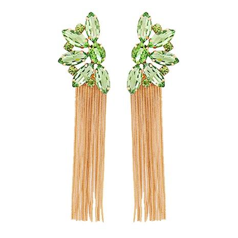 Boucles d'oreilles à pompon de fleur de diamant NHJJ351376's discount tags