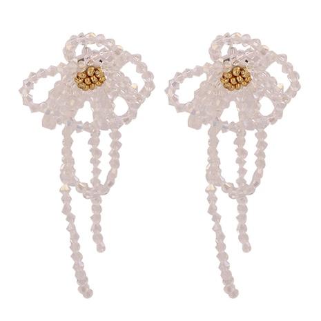 Boucles d'Oreilles Longues Glands Perle Baroque New Flower NHJJ351382's discount tags