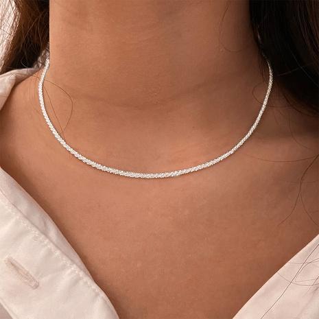 collier étoilé scintillant simple chaîne de chou-fleur NHPJ351396's discount tags