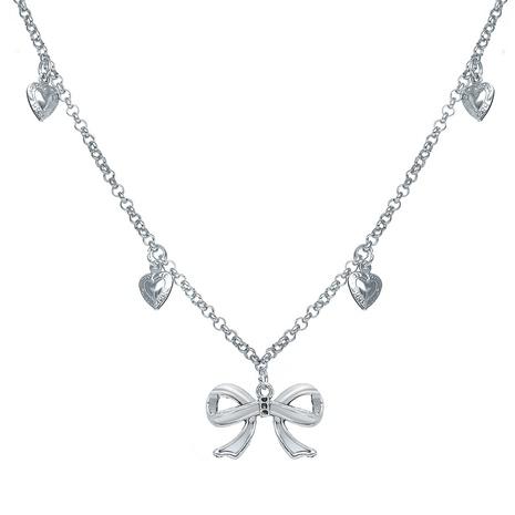 nouveau collier de chaîne de pendentif d'amour d'arc de style de mode NHPJ351402's discount tags
