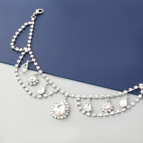 collier pendentif serti de diamants en alliage exagéré de style nouveau NHJE352015's discount tags