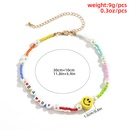 Fashion Beach Style Acrylic Letter Beaded Necklace NHXR352230
