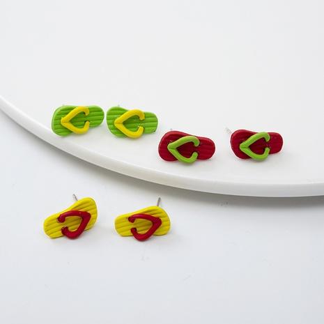 Nouvelles boucles d'oreilles créatives pour chaussures créatives d'été NHQIY352284's discount tags