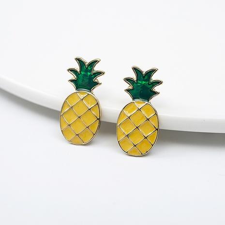 Cartoon Fruit Petites Boucles D'oreilles Boucles D'oreilles Ananas De Mode NHQIY352296's discount tags
