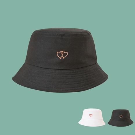Einfacher Stil der neuen koreanischen Mode lieben breitkrempigen Sonnenschutz-Fischerhut NHTQ352374's discount tags