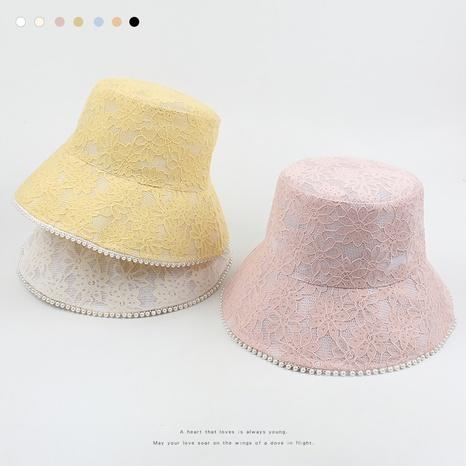 Neue einfache Perlenfischerhut im koreanischen Modestil NHXO352385's discount tags
