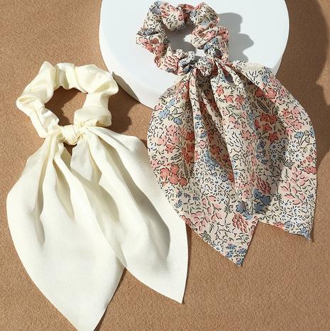 nouvel ensemble de chouchous de cheveux de couleur pure florale de style de mode coréen NHAU351794's discount tags