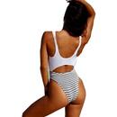 nouveau style de mode bikinis sexy une pice ray licou NHHL352540