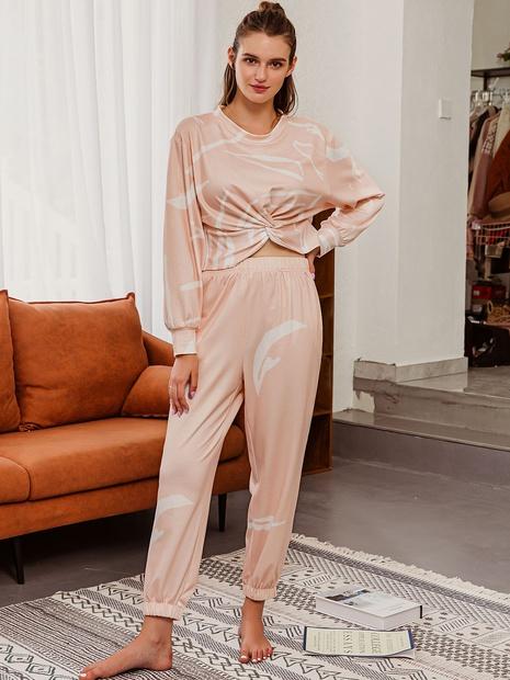 mode nouveau costume de pantalon chemisier de couleur unie NHDE352665's discount tags