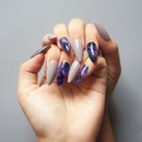 fashion new style almond long false nails  NHLUU352755