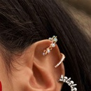 punk style single small rivet pearl ear bone clip   NHAYN352832