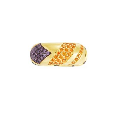 clip d'oreille en diamant à rayures de couleur de style tribal NHAYN352834's discount tags