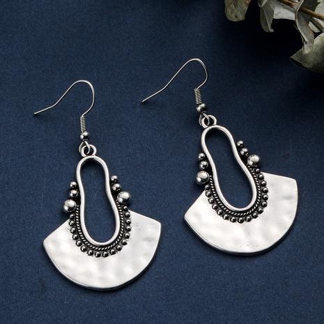 boucles d'oreilles en forme d'éventail de style rétro en gros NHAKJ352847's discount tags