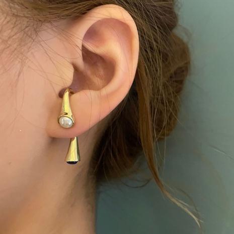 boucles d'oreilles rétro en forme d'ampoule à goutte d'eau NHYQ353009's discount tags