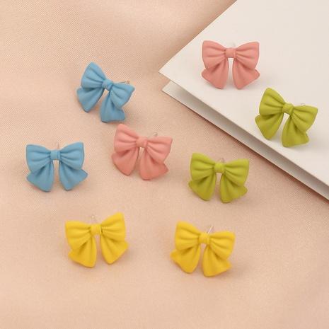 boucles d'oreilles de couleur bonbon à la mode en gros NHNZ353086's discount tags