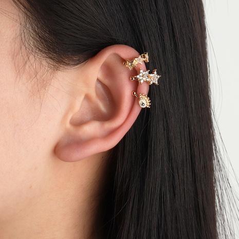 oeil de star de la mode sans boucles d'oreilles percées NHNZ353090's discount tags