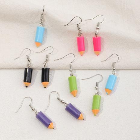 boucles d'oreilles crayon à la mode en gros NHNZ353092's discount tags