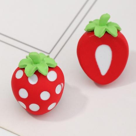Jolies boucles d'oreilles pastèque orange fraise fruit NHNZ353097's discount tags