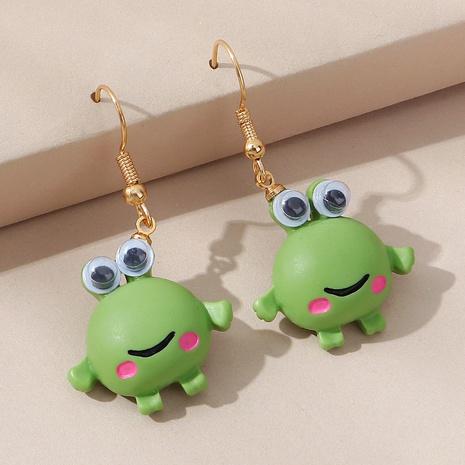 Boucles d'oreilles grenouille coréenne aux grands yeux NHPS353426's discount tags