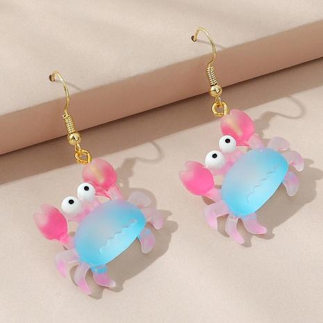 boucles d'oreilles crabe bleu rose sauvage de style mignon coréen NHPS353428's discount tags