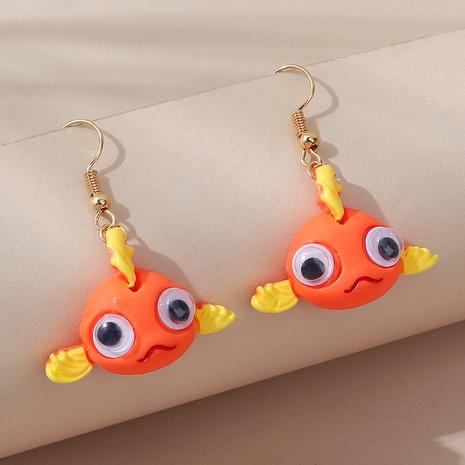 Boucles d'oreilles créatives mignonnes de poissons de clown de style de mode coréen NHPS353429's discount tags