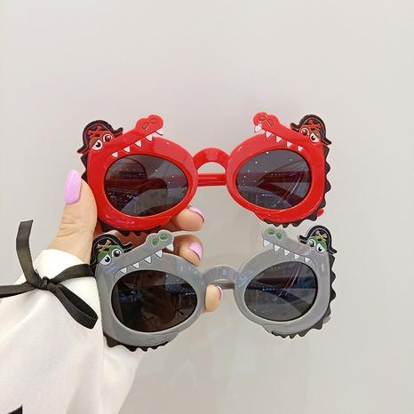 cartoon pirate crocodile sun-shading children's sunglasses  NHBA353612's discount tags