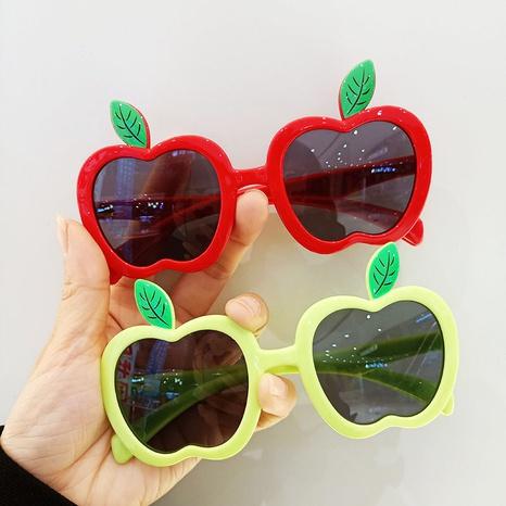 Shading UV Protection Apple Shape Frame Cartoon Children's Sunglasses  NHBA353618's discount tags
