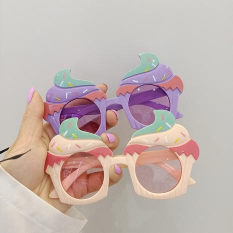fashion new ice cream shape kids sunglasses NHBA353625's discount tags