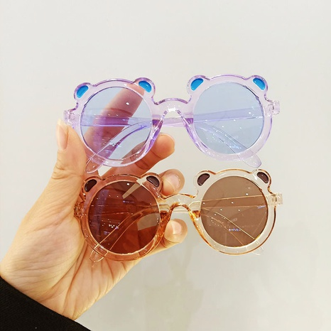 fashion new cute style panda baby cartoon children's sunglasses NHBA353626's discount tags