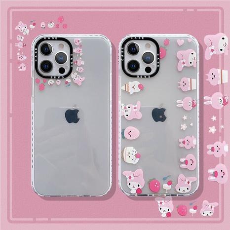 wholesale cartoon printing transparent mobile phone case  NHFI353704's discount tags