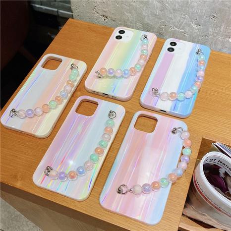 Korean contrast color cloud printing bracelet mobile phone case  NHFI353715's discount tags
