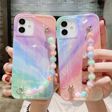 Korean contrast color beads bracelet mobile phone case NHFI353716's discount tags