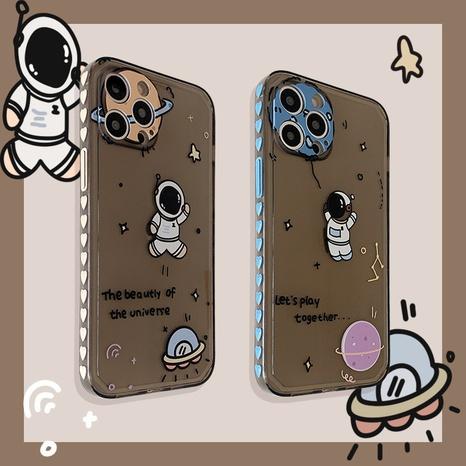 Cartoon Side Heart Planet Astronaut Mobile Phone Case  NHFI353721's discount tags