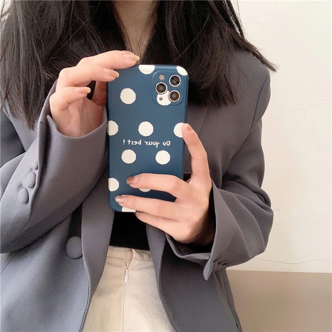 simple polka dots mobile phone case wholesale  NHFI353723's discount tags
