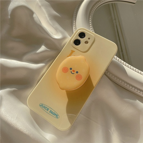 fashion rendering yellow lemon stand mobile phone case  NHFI353735's discount tags