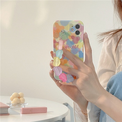 fashion color dot heart bracelet soft shell  NHFI353736's discount tags
